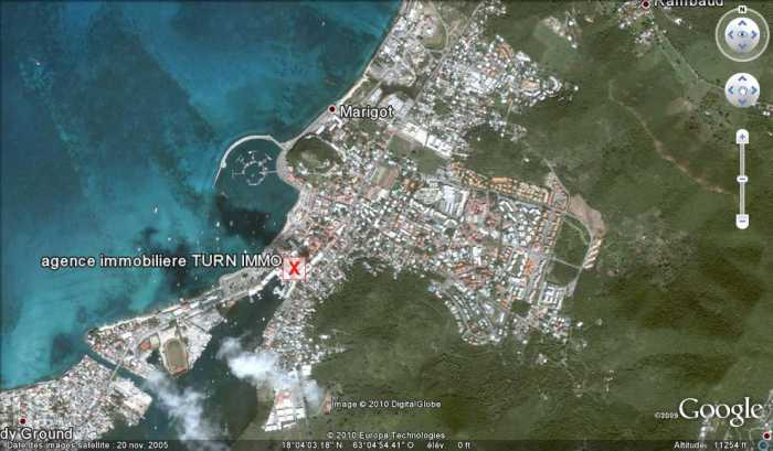 VENTE TERRAIN 2 pices - ile de St Martin