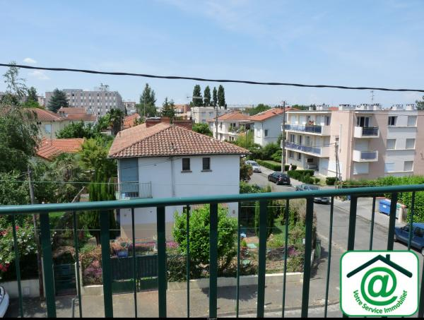 TOULOUSE (31500) METRO Jolimont  � 5 minutes : APT T3 DE 68 M� AVEC 2 BALCONS + 1 PARKING - DISPONIBLE DE SUITE