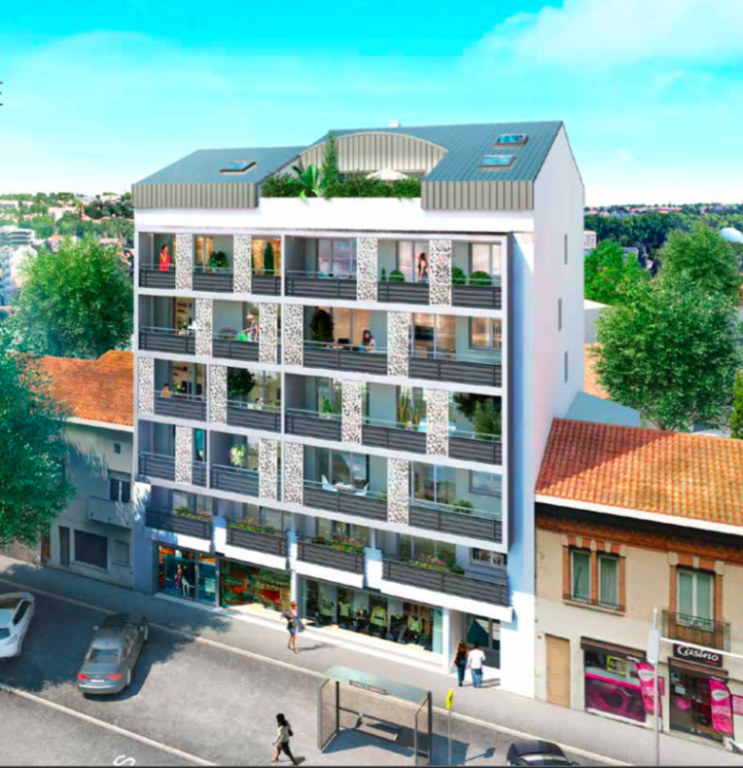 Annonce vente appartement toulouse 31000 24 m 133 for Location appartement atypique toulouse centre