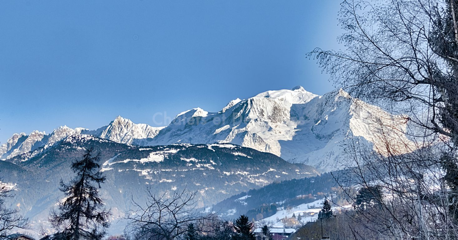 Combloux apartment Mont Blanc view