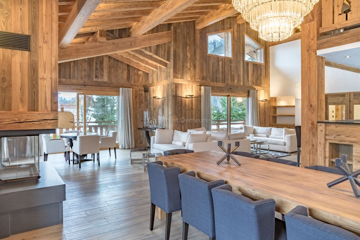 Chalet Megeve a few steps from the village center