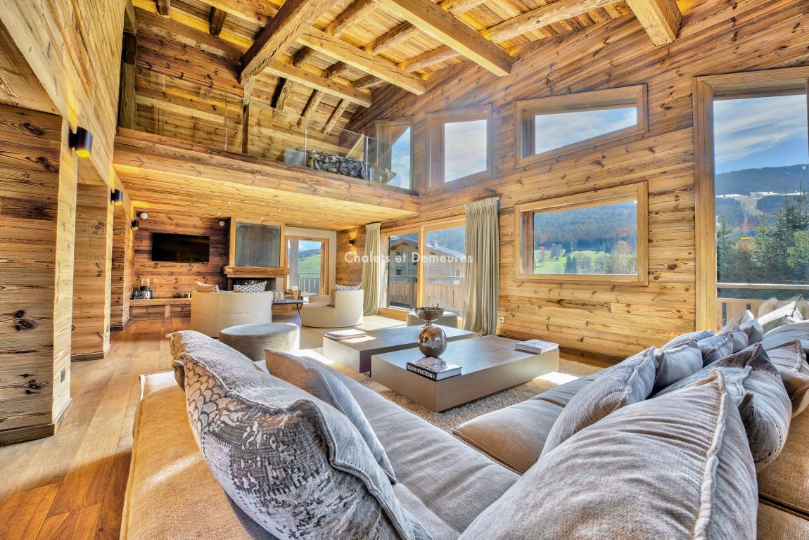 CHALET FACING MONT BLANC