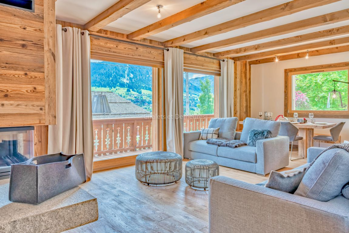 Appartement T5 Megeve au pied du village