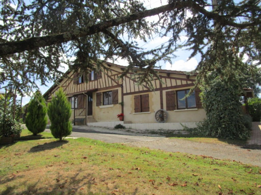 Attractive character property in a beautiful setting with 2 gites, heated pool and outbuildings. Offering lovely views and total peace and quiet,
