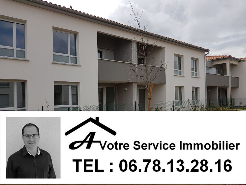 TOULOUSE (31300) SAINT MARTIN - APT T3 NEUF 56m² avec LOGGIA & 1 PARKING - 228 000€ TTC - DISPONIBLE DE SUITE
