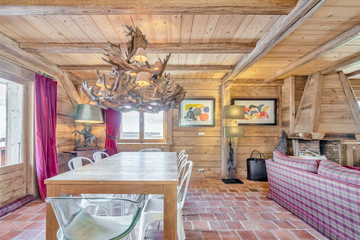 Appartement T4 Megeve au pied du village