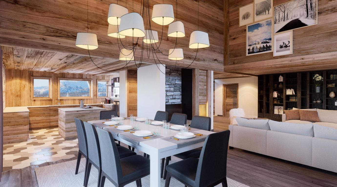 Appartement T4 Praz sur Arly Ski In Ski Out