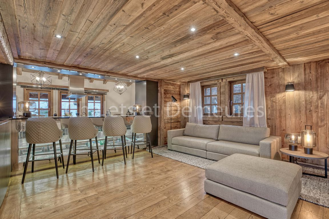 Chalet Megeve ski In, ski Out