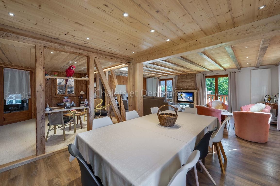 Chalet Ski In, Ski Out Saint Nicolas de Veroce
