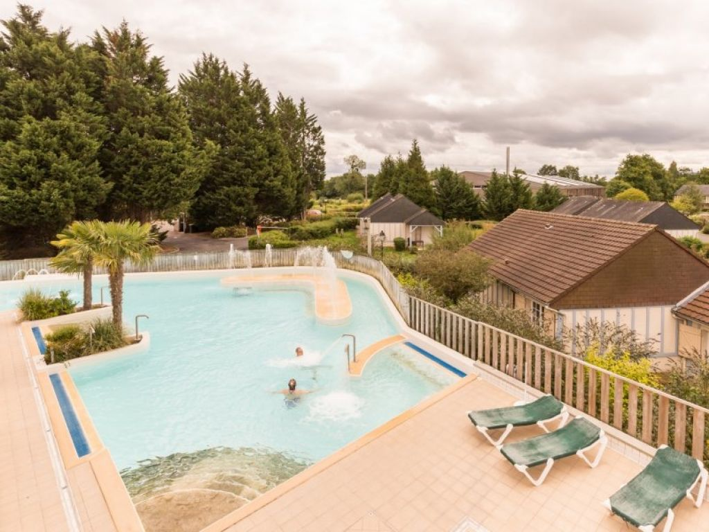 BRANVILLE, Village Club Normandy Garden - VILLA  TYPE T2  avec terrasse de 8 m2- Loyer 3 695 € HT par an - Rendement Net : 4.8 % -  Échéance bail 30 09 2026